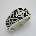Celtic Dara Knot with Cross