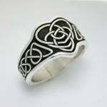 Celtic Double Heart Knot-Wide