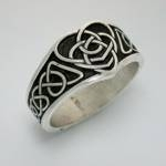 Celtic Double Heart Knot-Narrow